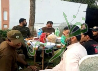 Police often Iftar partes