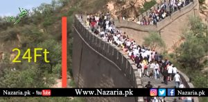 height of the great wall of chian